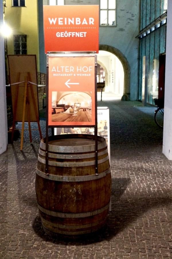 das Vinorant im Alten Hof