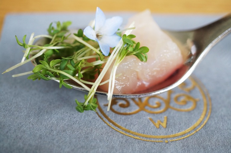Sushi vom bayerischen Huchen