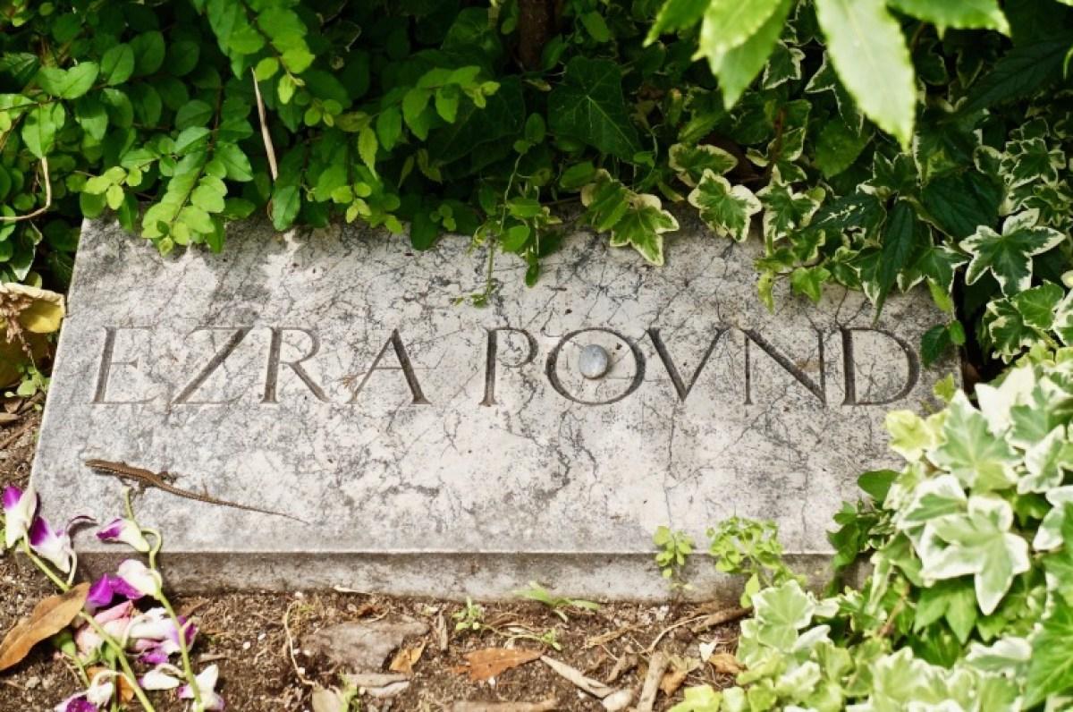 Eidechse bei Ezra Pound