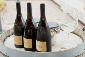 Weinprobe auf der Terrasse