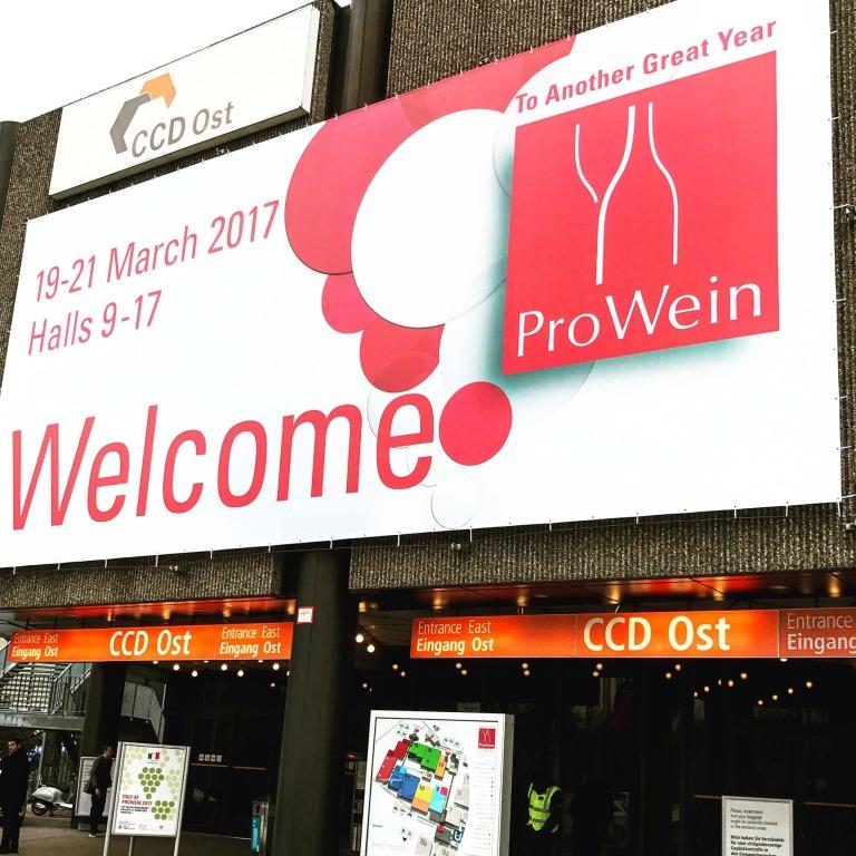 Mein erster Tag auf der ProWein 2017