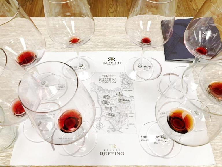 Ruffino Chianti Tasting mit Jens Priewe