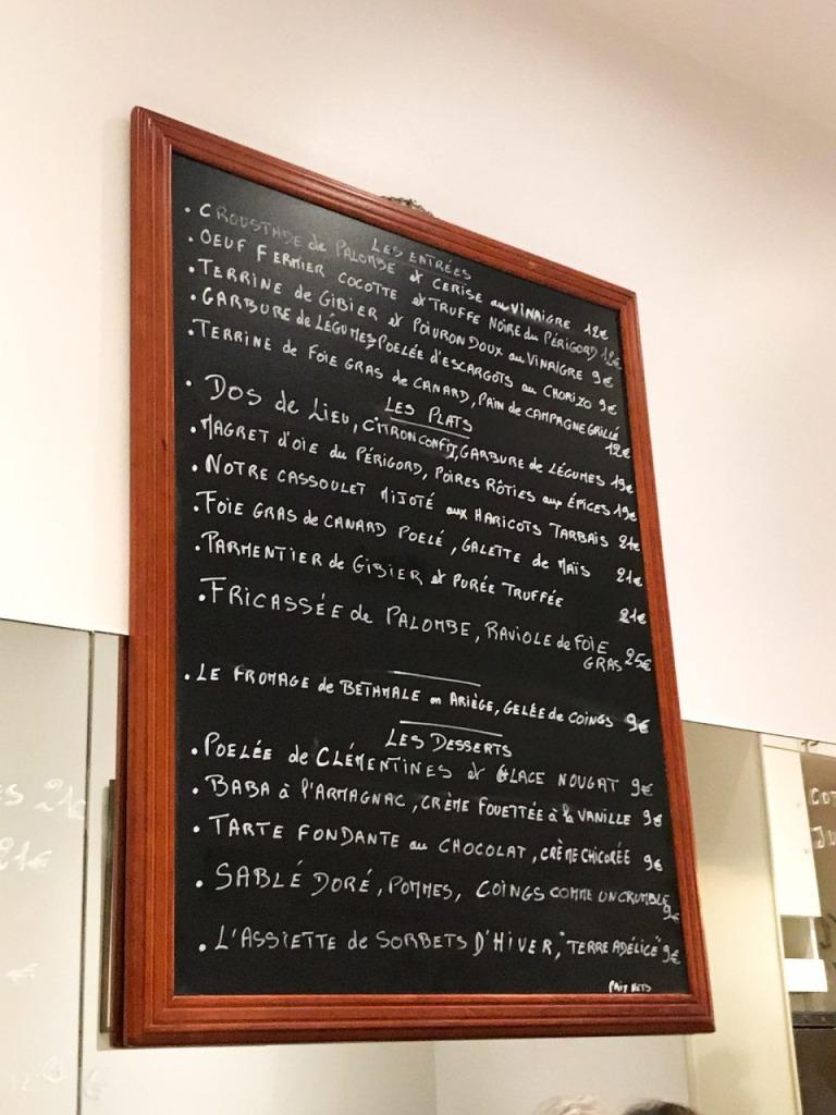 """Paris – Abendessen im """"La Cerisaie"""""""