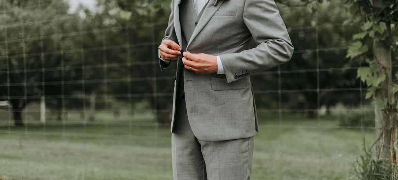 Anzug Mann