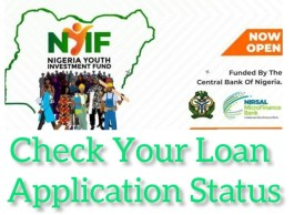 Nigeria Youth Investment Fund (NYIF) Has Commenced Loan Application Approval; Check Your Loan Application Status