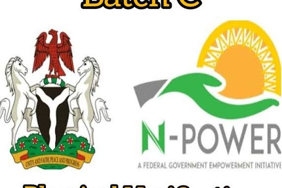 FG Announces Date for Physical Verification for Npower Batch C Beneficiaries; See Details