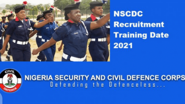 Civil Defence Training Exercise | NSCDC Recruitment Training Date 2021 | How To Print Your Invitation Letter
