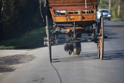 Cart with hooves