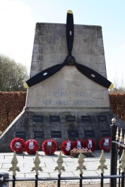 New Forest Airfields memorial 1