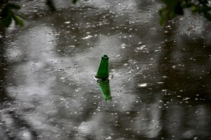 Bottle in lake 1