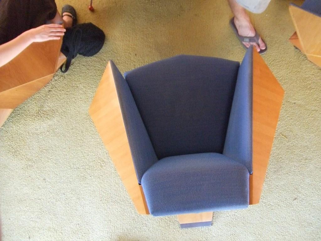 Frank Lloyd Wright Oragami Chair