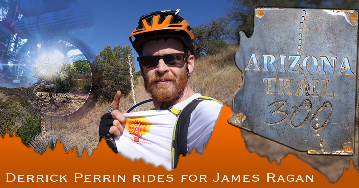 Derrick Perrin rides the AZT 300 for James Ragan