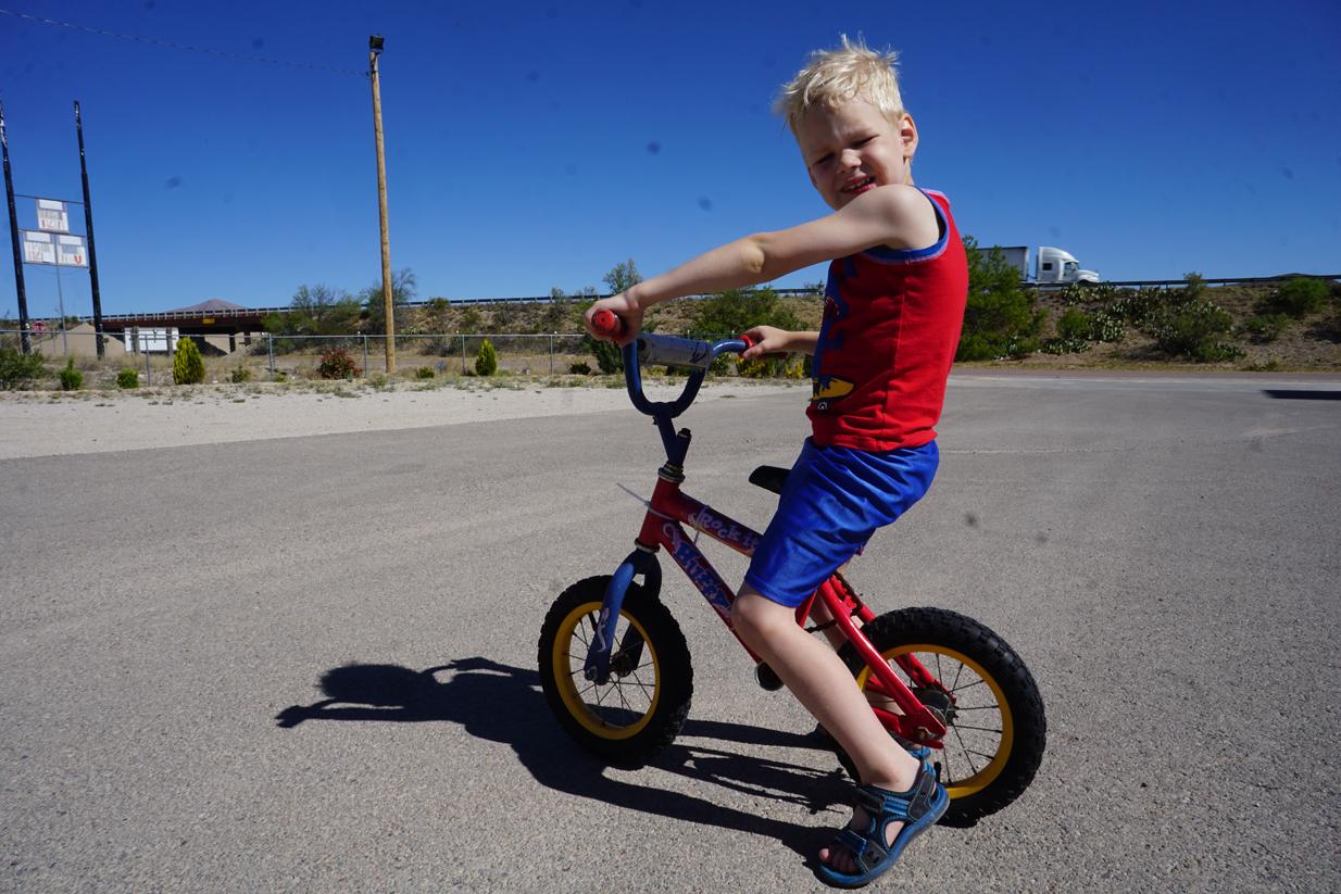 Balance Bike Outdoors