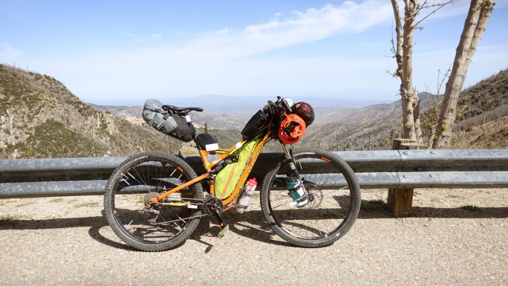 Derrick Perrin's bike on Mr Lemmon