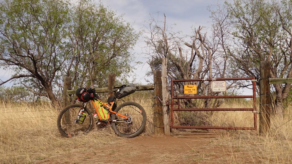 bikepacking the AZT300
