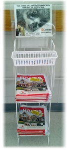 Derrick Team Magazine Rack