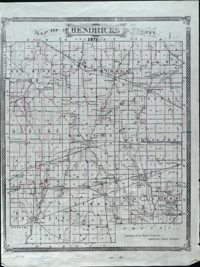 Hendricks County 1876
