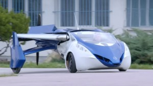 A real flying car: AeroMobil