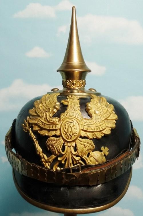 Prussia - Pickelhaube - One-Year-Volunteer  - Grenadier-Regiment w/FRW - Imperial German Military Antiques Sale