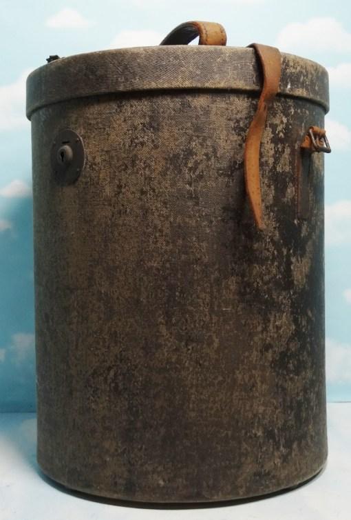 STORAGE CASE FOR PICKELHAUBE - KUGELHELM - SCHIRMÜTZE - Imperial German Military Antiques Sale
