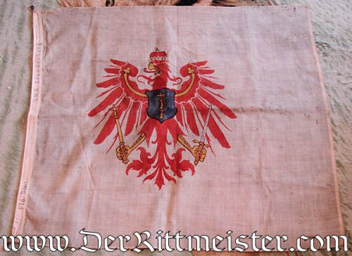 GERMANY - FLAG - BATTLESHIP (LINIENSCHIFF) S. M. S. BRANDENBURG - Imperial German Military Antiques Sale
