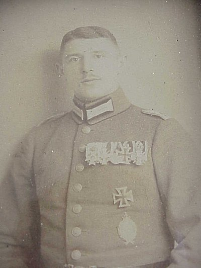 FRAMED PHOTOGRAPH OF MAX IMMELMANN - Imperial German Military Antiques Sale