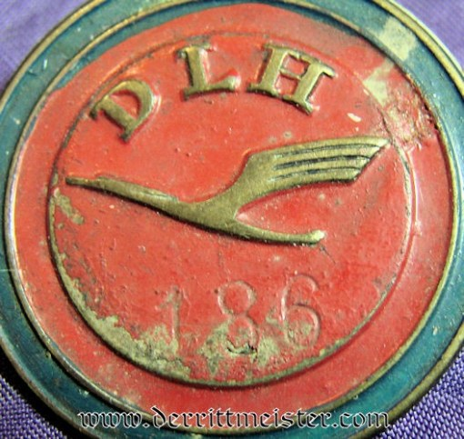 GERMANY - BADGE - EARLY LUFTHANSA  (1920'S) - Imperial German Military Antiques Sale
