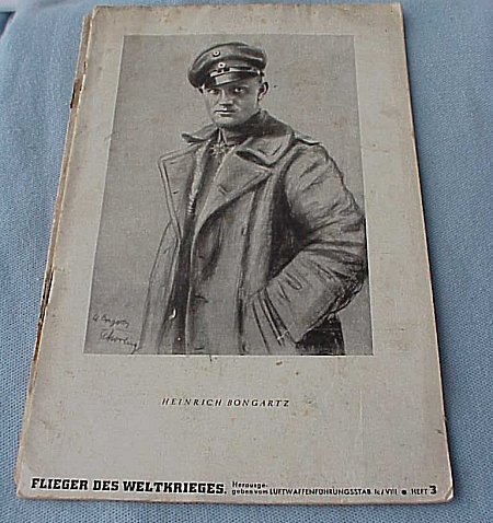 GERMANY - BOOK - FLIEGER DES WELTKRIEGES - Imperial German Military Antiques Sale
