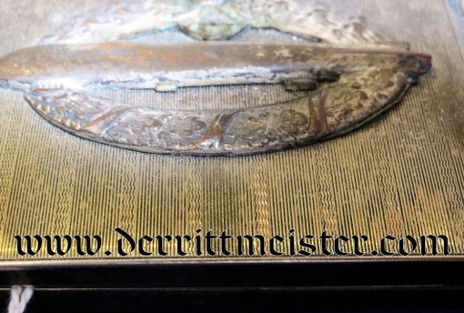 GERMANY - CIGARETTE CASE - ZEPPELIN - Imperial German Military Antiques Sale