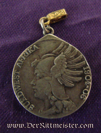 SOUTHWEST AFRICA COLONIAL - MINIATURE - NON COMBATANTS  MEDAL - DENKMÜNZE - Imperial German Military Antiques Sale