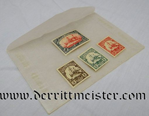 NEW GUINEA COLONIAL  - STAMP SET - Imperial German Military Antiques Sale