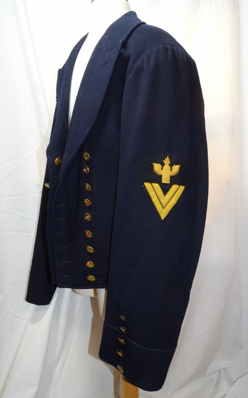 DEPOT-ISSUED ENLISTED NAVAL COASTAL ARTILLERY MAN'S DRESS TUNIC - Imperial German Military Antiques Sale