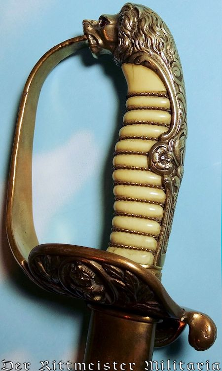 GERMANY - SWORD - OFFICER - IDENTIFIED - NAVY - Imperial German Military Antiques Sale
