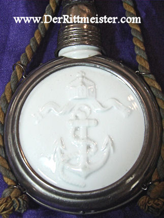 VETERAN'S CANTEEN/FLASK - S.M.S. BRAUNSCHWEIG - Imperial German Military Antiques Sale