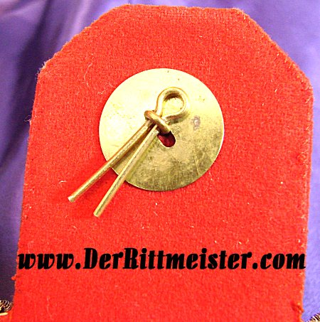 BAVARIA - EPAULETTES - REGIMENTAL COMMANDER AND OBERST - PRINZ FRANZD - INFANTERIE-REGIMENT Nr 2 - ORIGINAL STORAGE CASE - Imperial German Military Antiques Sale