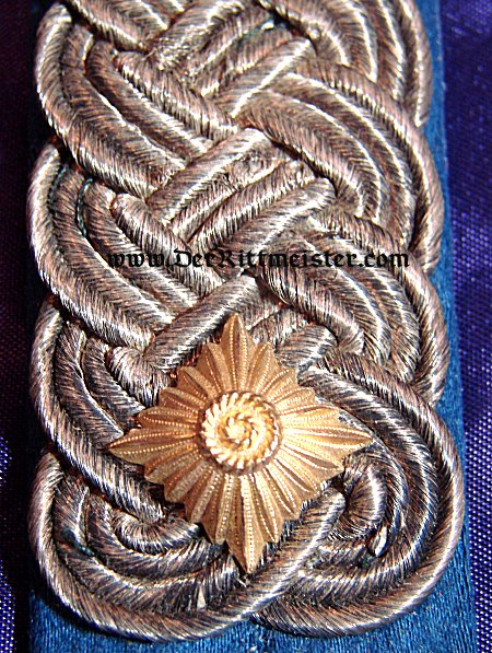 SAXONY - SHOULDER BOARDS - OBERSTLEUTNANT - HUSAREN-REGIMENT OR ULANEN-REGIMENT - - Imperial German Military Antiques Sale