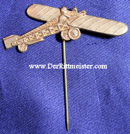 GERMANY - STICKPIN - TAUBE AIRPLANE - Imperial German Military Antiques Sale