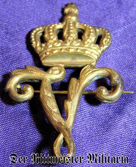 PATRIOTIC PIN - 2. LEIB-HUSAREN-REGIMENT KÖNIGIN VICTORIA von PREUßEN Nr 2 - Imperial German Military Antiques Sale