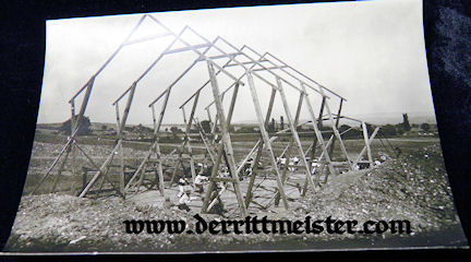 LARGE-FORMAT ORIGINAL PHOTOGRAPH - OBSERVATION BALLOON CREW - Imperial German Military Antiques Sale