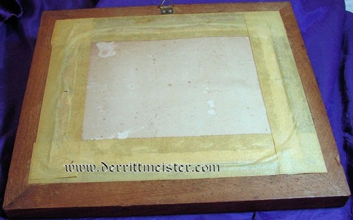 FRAMED PHOTOGRAPH - S. M. S. NIXE - Imperial German Military Antiques Sale