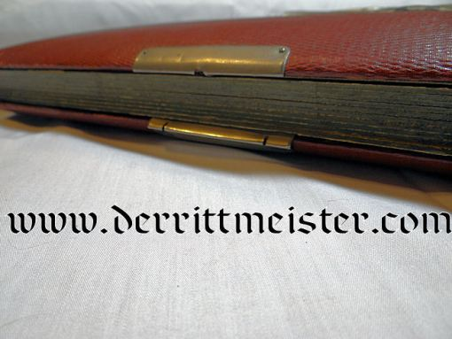 DELUXE PHOTO LEATHER PHOTO ALBUM - Imperial German Military Antiques Sale