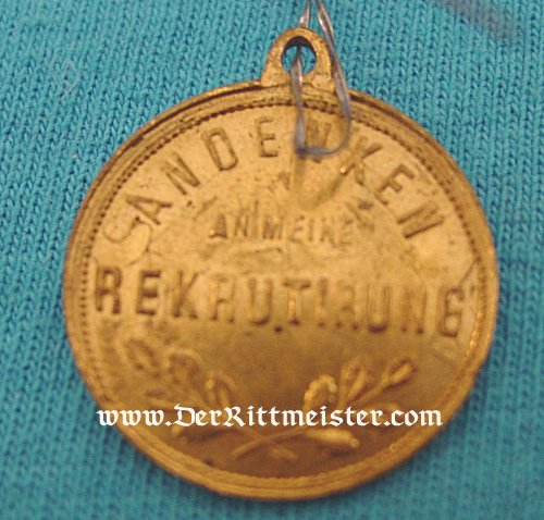 GERMANY - MEDAL - VETERAN'S ASSOCIATION - KAISER WILHELM II - Imperial German Military Antiques Sale