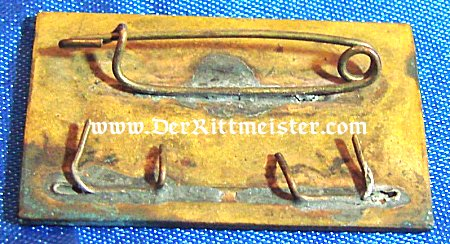 O. A. K. PIN 1909-1934 - Imperial German Military Antiques Sale