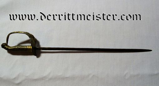 PRUSSIA - SWORD - OFFICER - MINIATURE - M-1889 IOD - Imperial German Military Antiques Sale