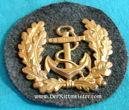 SLEEVE OR CAP BADGE FOR THE REICHSMARINE OR MERCHANT MARINE - Imperial German Military Antiques Sale
