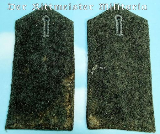 PRUSSIA - SHOULDER STRAPS - ENLISTED MAN/NCO - FLIEGER-ABTEILUNG - Imperial German Military Antiques Sale