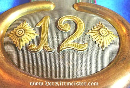 SAXONY - EPAULETTES - HAUPTMANN - INFANTERIE-REGIMENT Nr 12 - Imperial German Military Antiques Sale