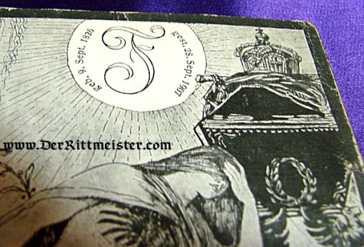POSTCARD - GRAND DUKE FRIEDRICH I - BADEN - Imperial German Military Antiques Sale