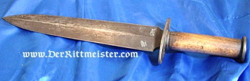 U.S. - BOWIE KNIFE - CONFEDERATE STATES OF AMERICA - Imperial German Military Antiques Sale
