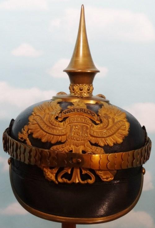 PRUSSIA - PICKELHAUBE - OFFICER - INFANTERIE-REGIMENT NR 74, NR 77, NR 78, NR 164, OR NR 165 - Imperial German Military Antiques Sale